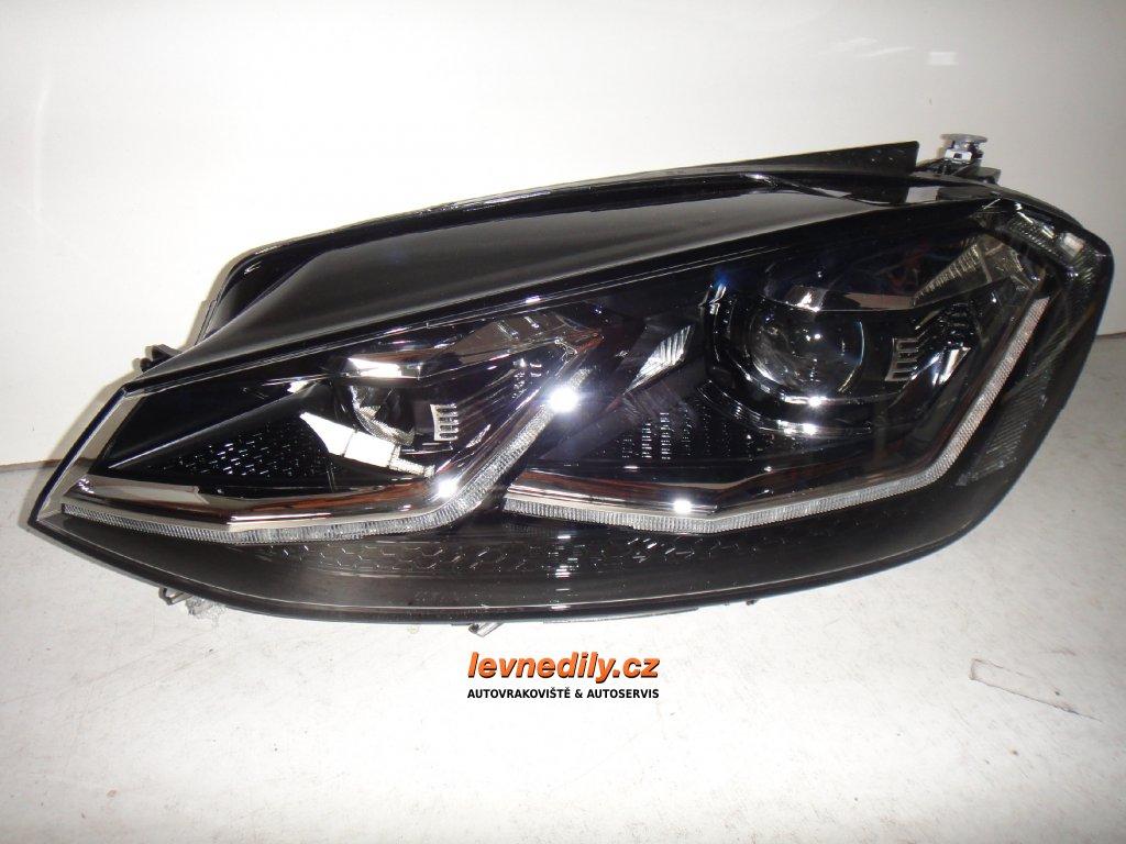 Pravý přední PP led světlomet VW Golf VII 5G1941060