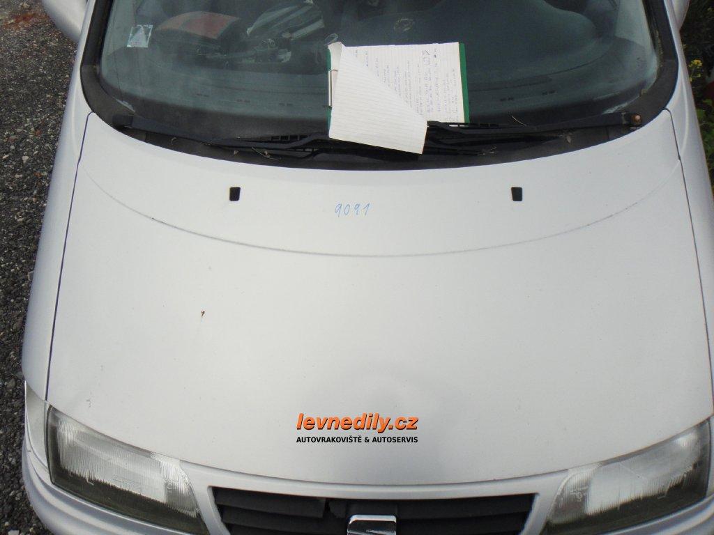 Přední kapota VW Sharan Seat Alhambra 95-00