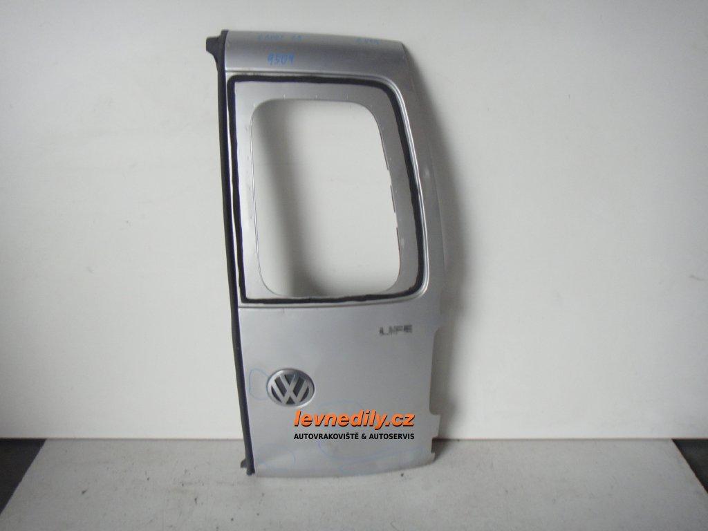 Pravé zadní křídlové dveře VW Caddy 2K