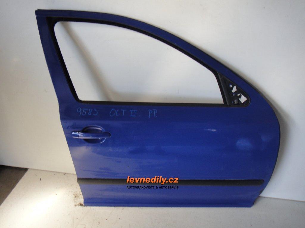 Pravé přední PP dveře Škoda Octavia II