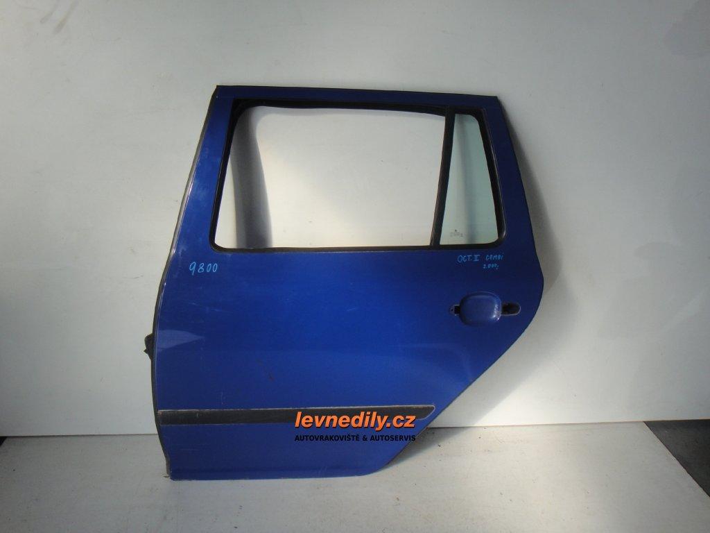 Levé zadní LZ dveře Škoda Octavia II combi