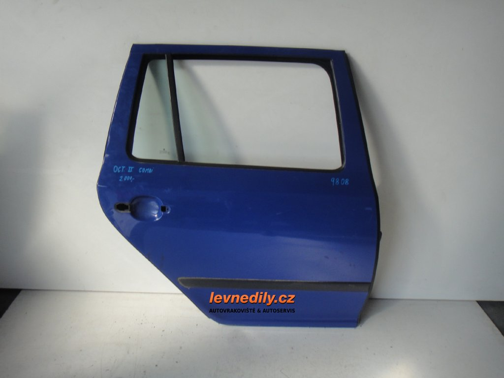 Pravé zadní PZ dveře Škoda Octavia II combi