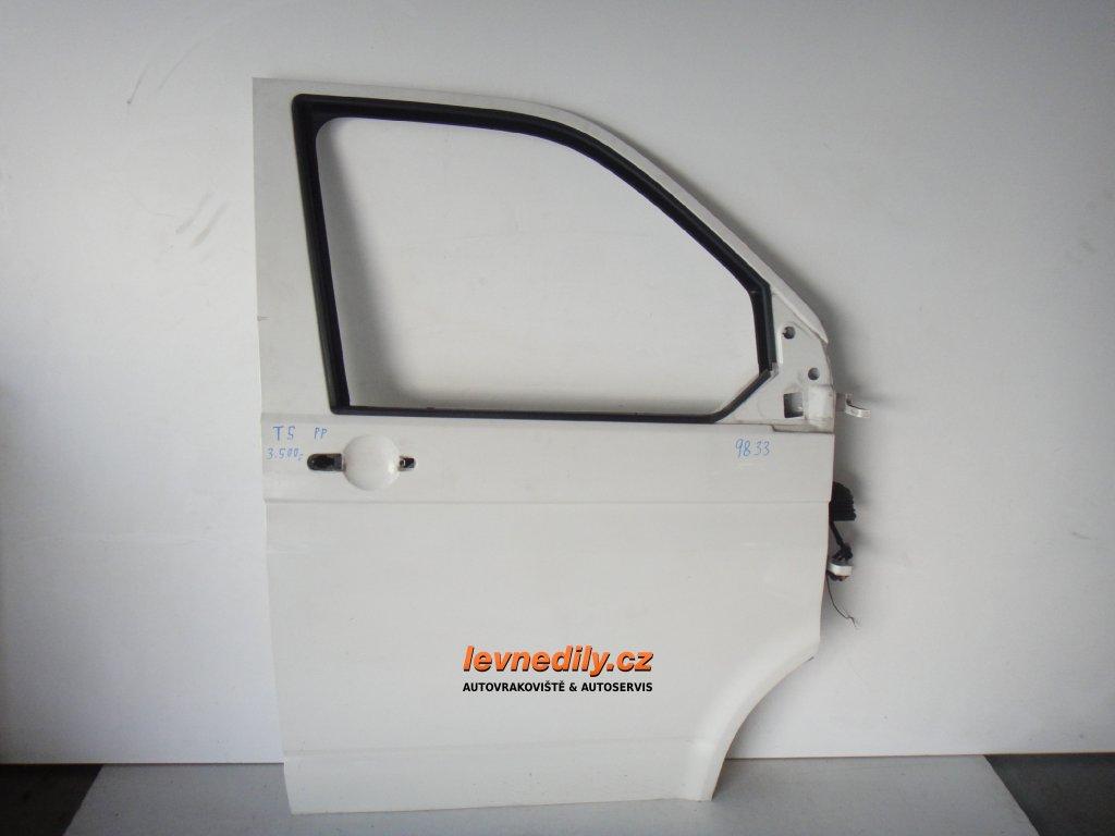 Pravé přední PP dveře VW Transporter T5