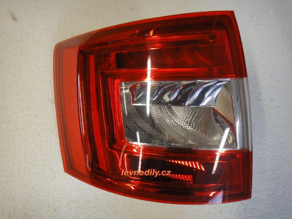 Levé zadní LZ světlo Škoda Octavia III 5E9945095A