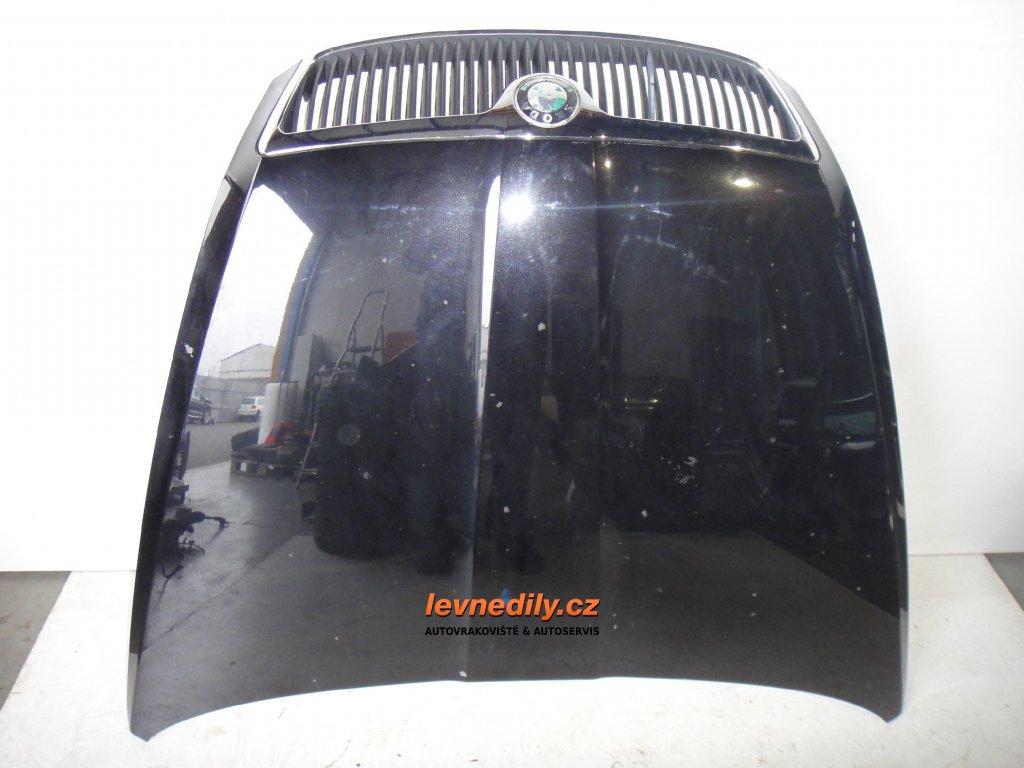 Přední kapota s maskou Škoda Octavia II
