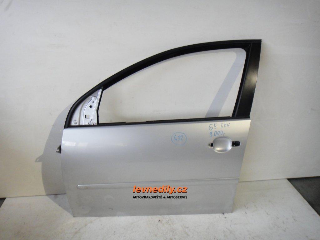 Levé přední LP dveře VW Golf V