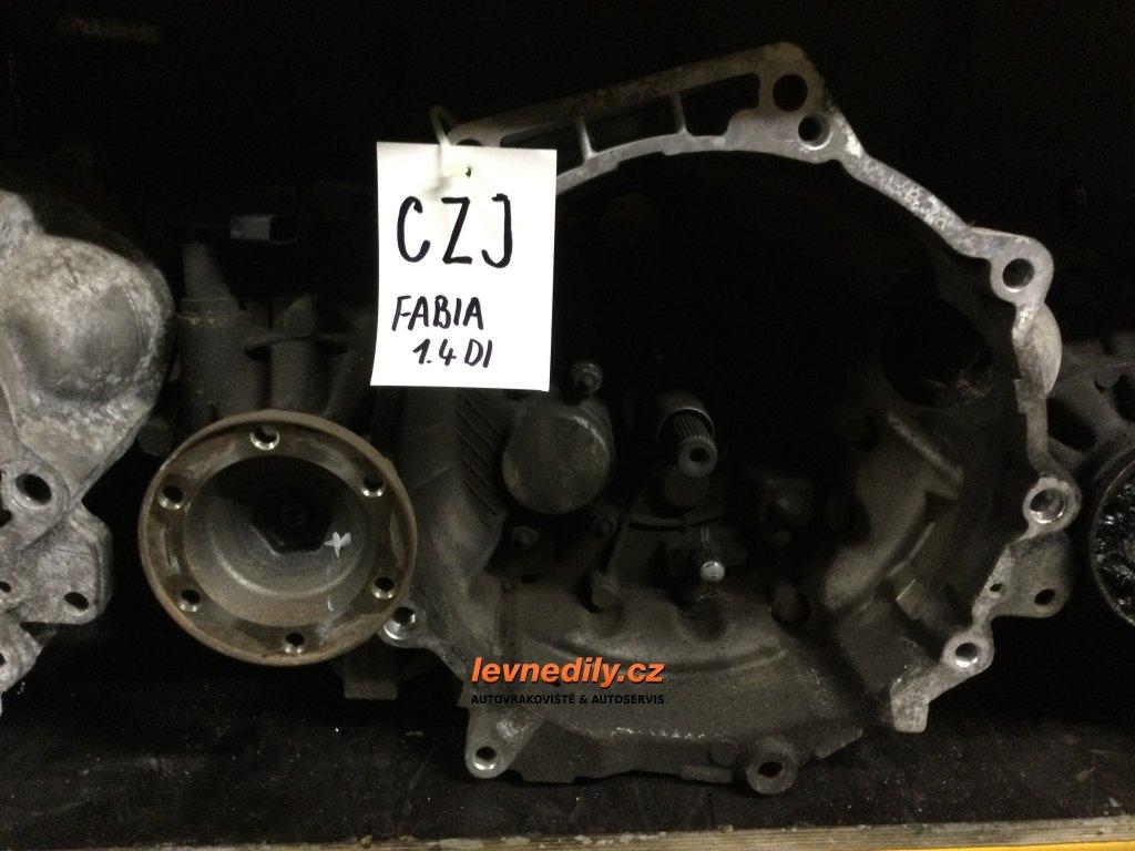 Převodovka CZJ Škoda Fabia I 1.4 TDI