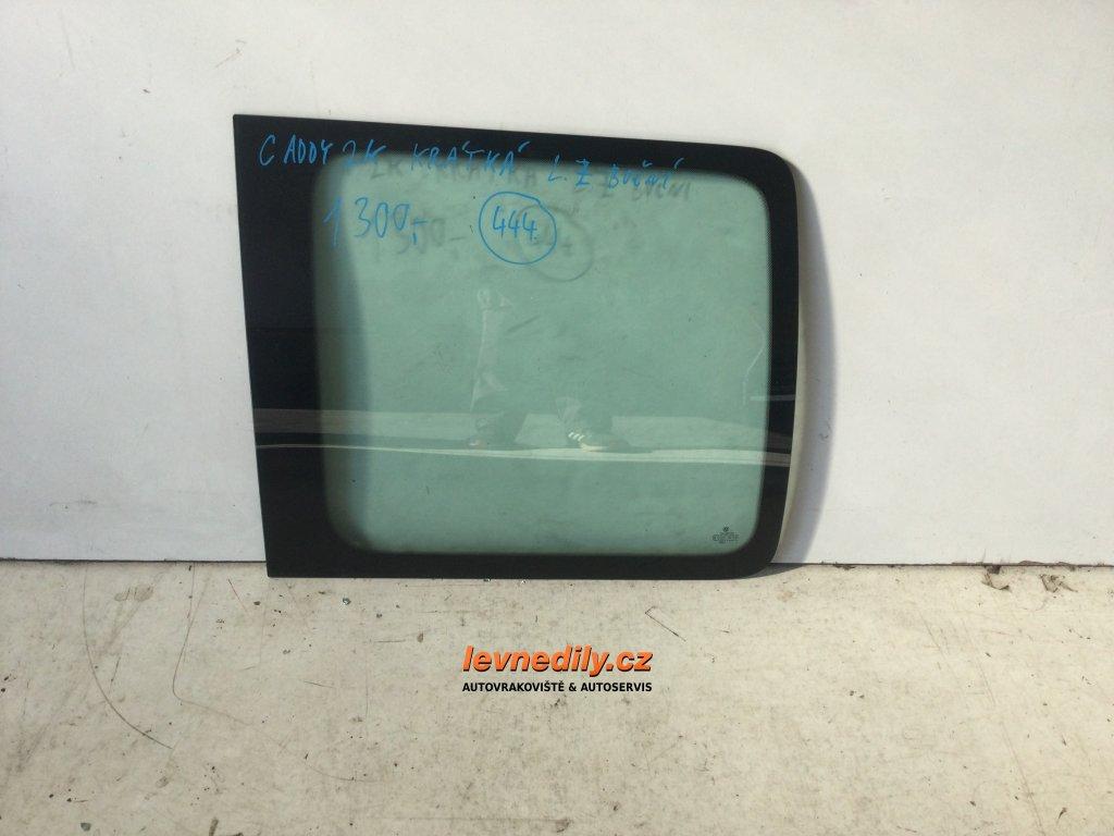 Levé zadní LZ boční sklo Škoda Fabia I