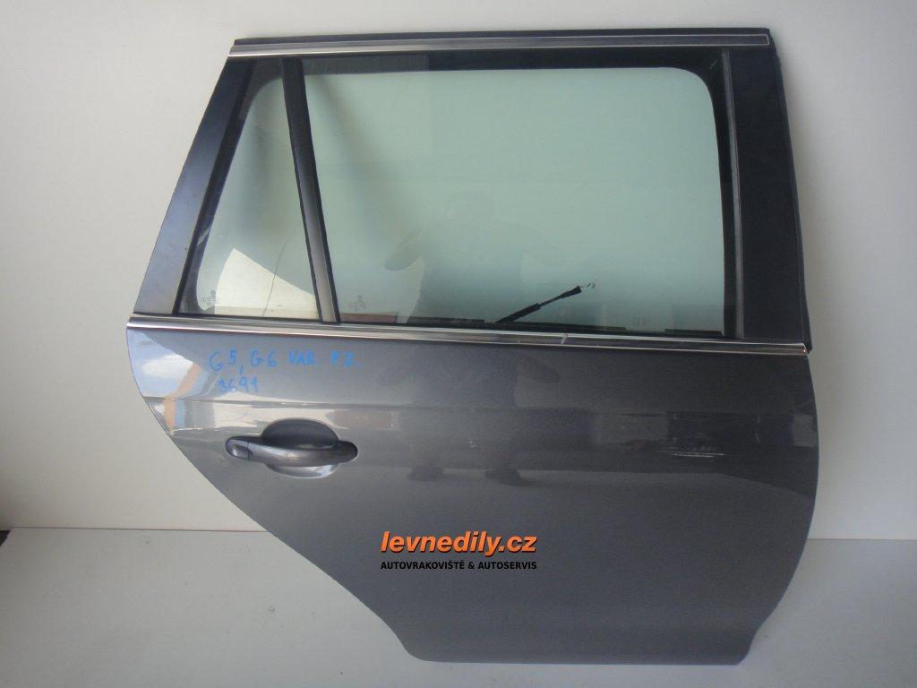 Pravé zadní dveře VW Golf V VI variant