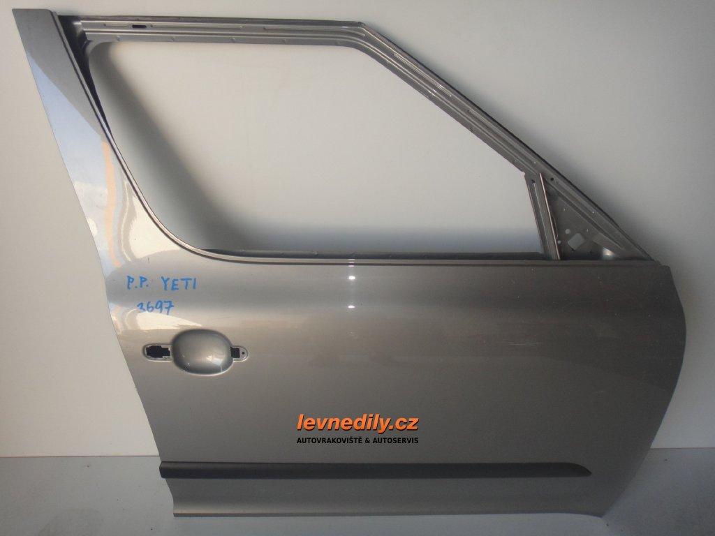 Pravé přední dveře Škoda Yeti