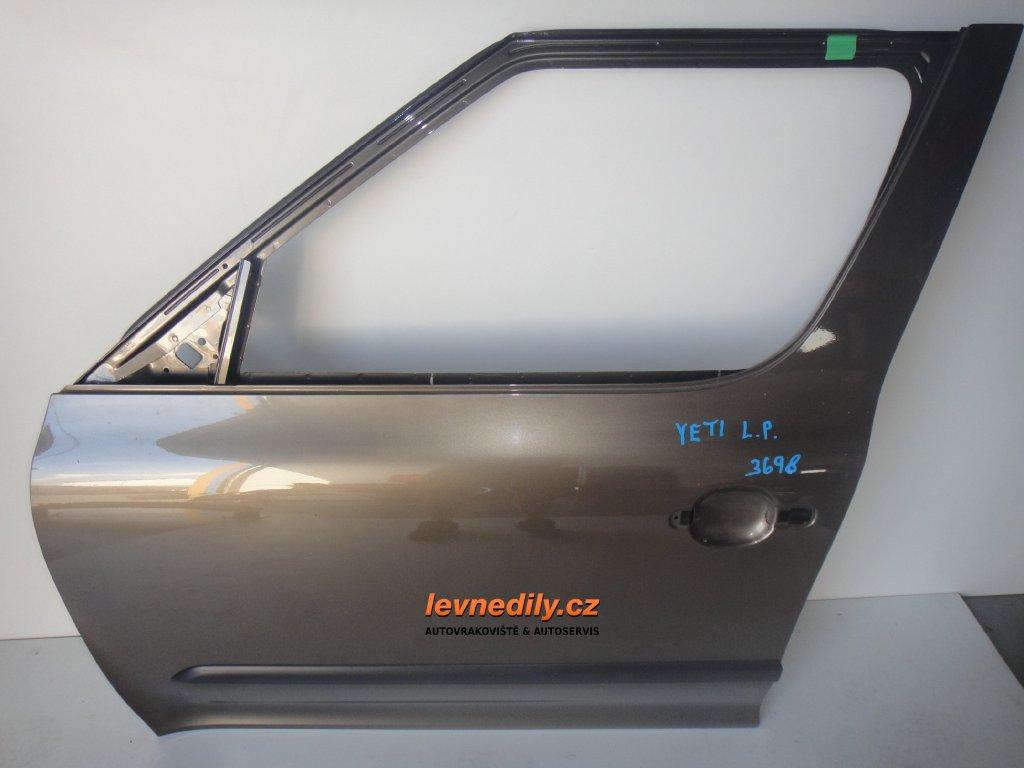 Levé přední dveře Škoda Yeti
