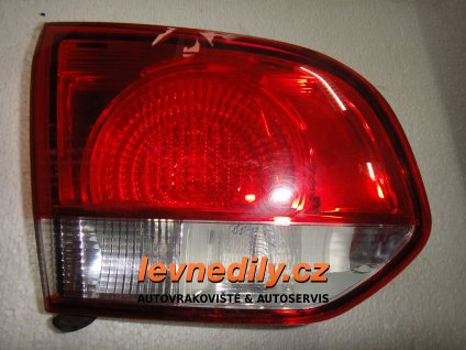 Levé zadní světlo VW Golf VI 5K0945093J vnitřní