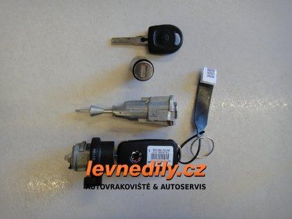 Sada vložky zámku s klíčem 1S4800375H VW Up