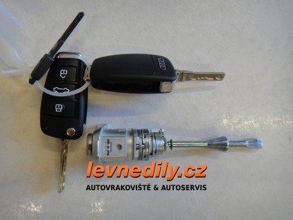 Sada vložky zámku s klíčem 4L1837167 Audi Q7