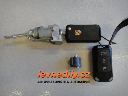 Sada vložky zámku s klíčem 7L5837167C Porsche Cayenne
