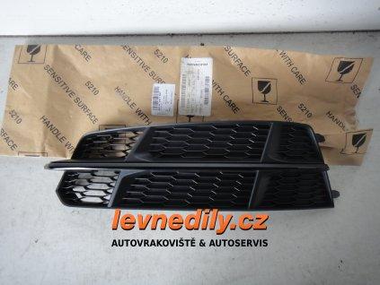 Levá přední LP mřížka do nárazníku Audi A6 4G0807681AN