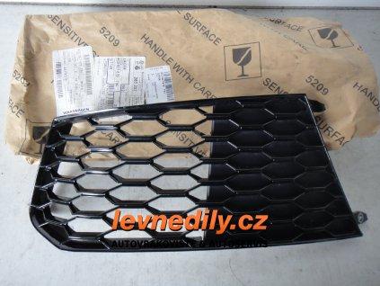 Levá přední LP mřížka do nárazníku Audi RS6 4G0807681S T94