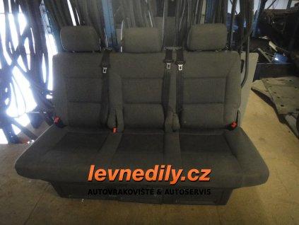 Zadní lavice sedadla VW Transporter T5 Multivan