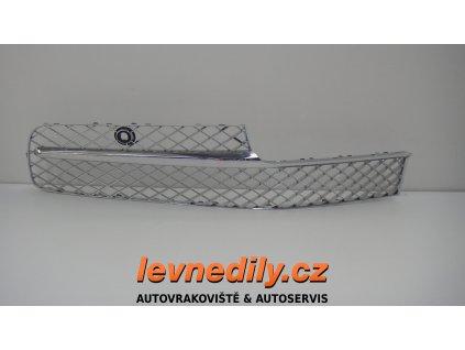 Chromová mřížka Bentley Continental FS 4W0807648J