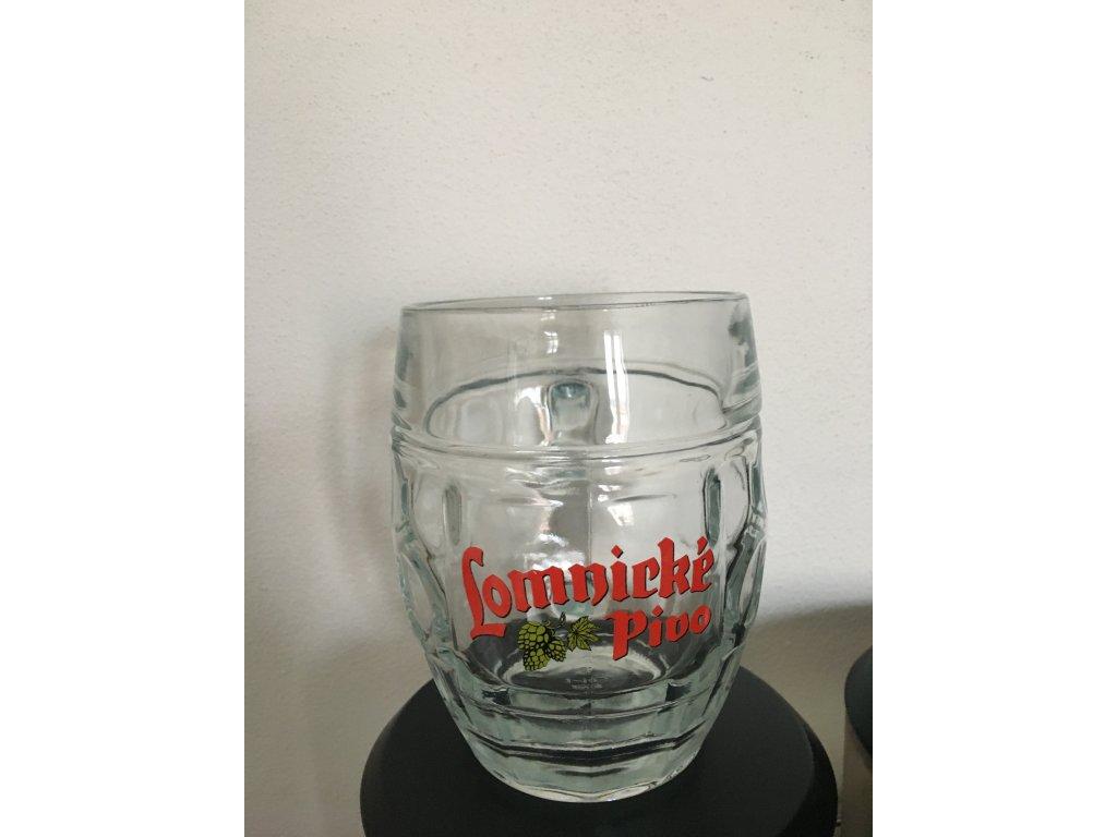 Pivní sklo 0,5l
