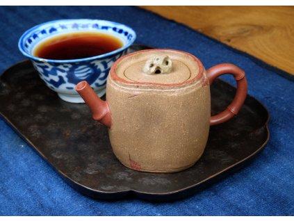 Konvička Yixing Bambus a kamínek