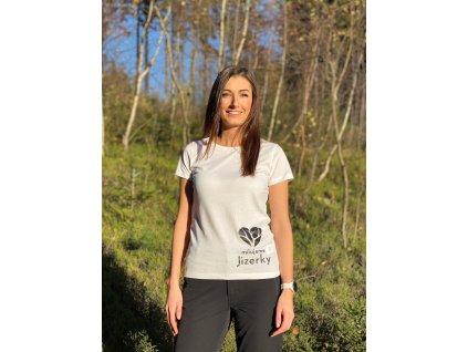Dámské tričko Milujeme Jizerky