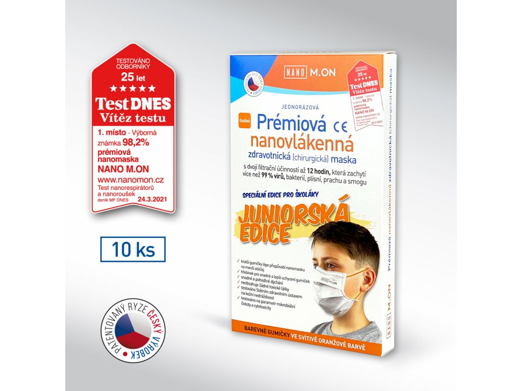 10 ks box rousky oranz NMON