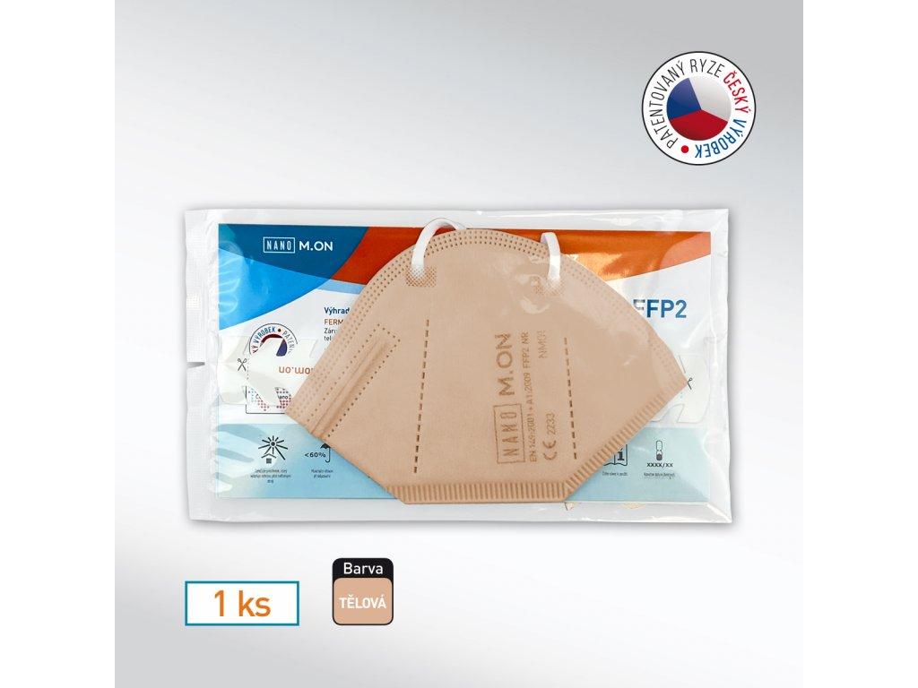 1 ks FFP2 tel NMON