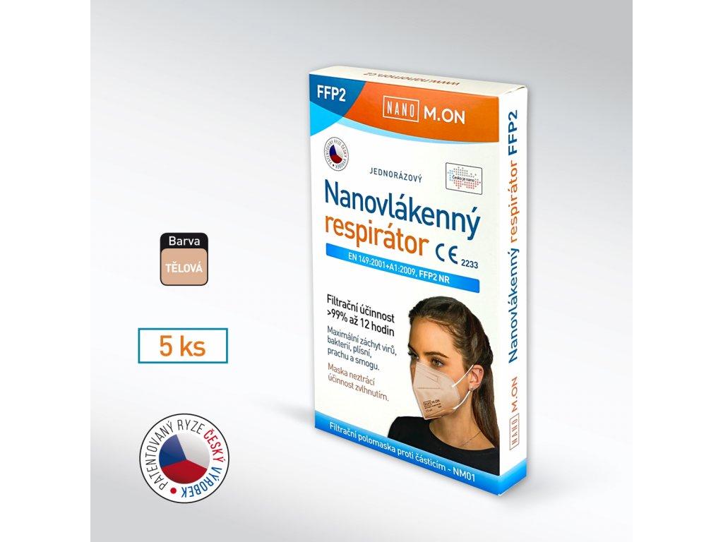 5 ks FFP2 tel NMON
