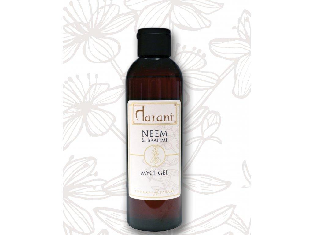 Tarani NEEM & BRAHMI - MYCÍ GEL - 200 ml