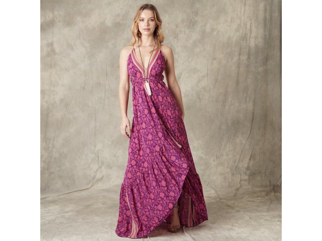 Hedvábné dámské letní  šaty