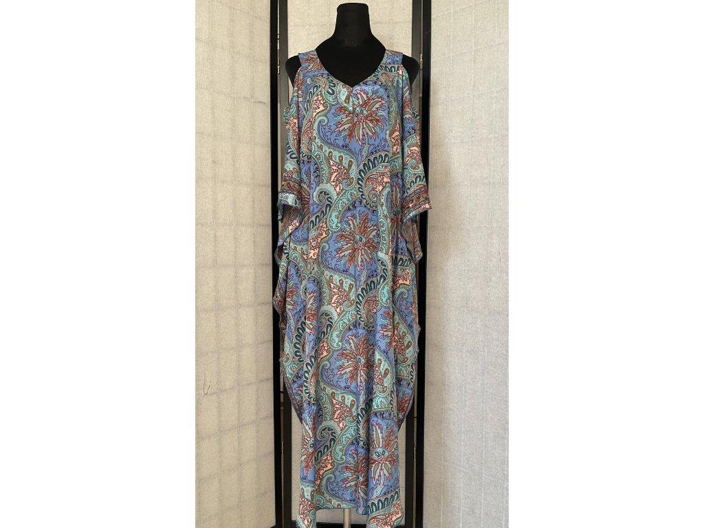 hedvábné letní šaty