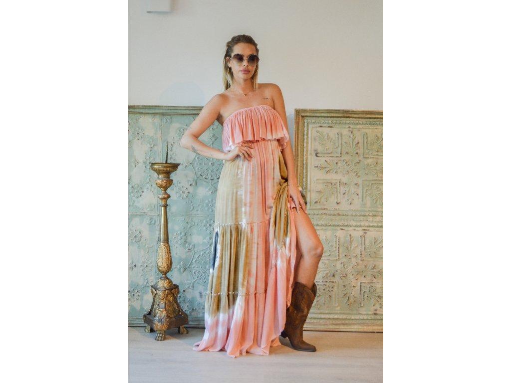 Dlouhé dámské letní šaty
