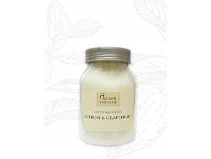 Tarani DETOXIKAČNÍ SŮL - CITRON GRAPEFRUIT 500 g