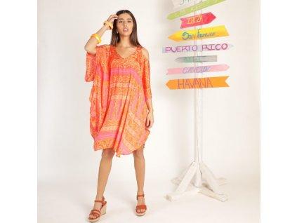 Krátké plážové šaty Agra Kaftan