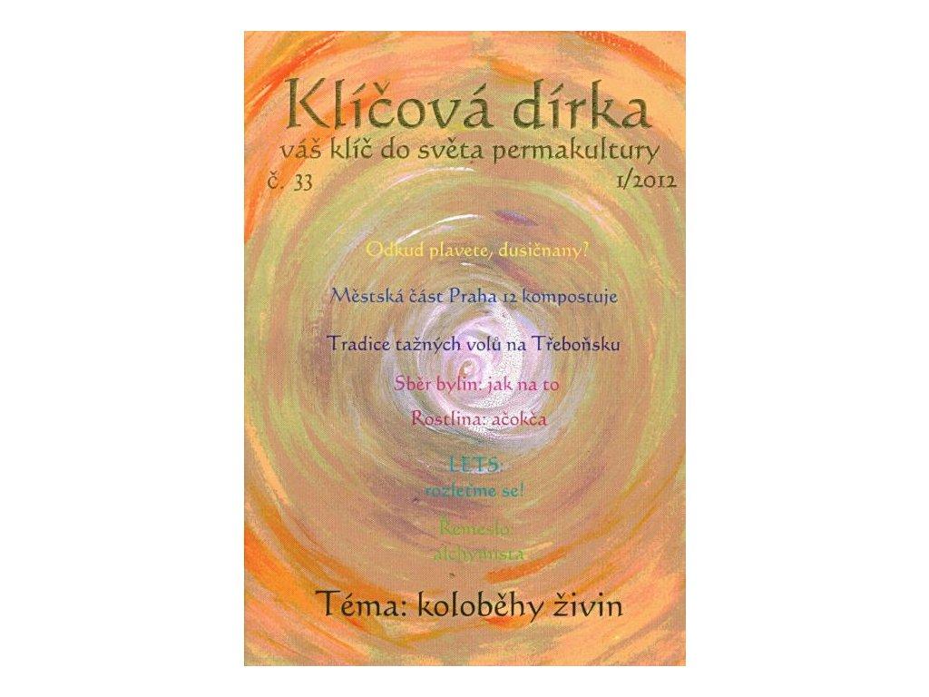 KLÍČOVÁ DÍRKA Č. 33 - 1/2012