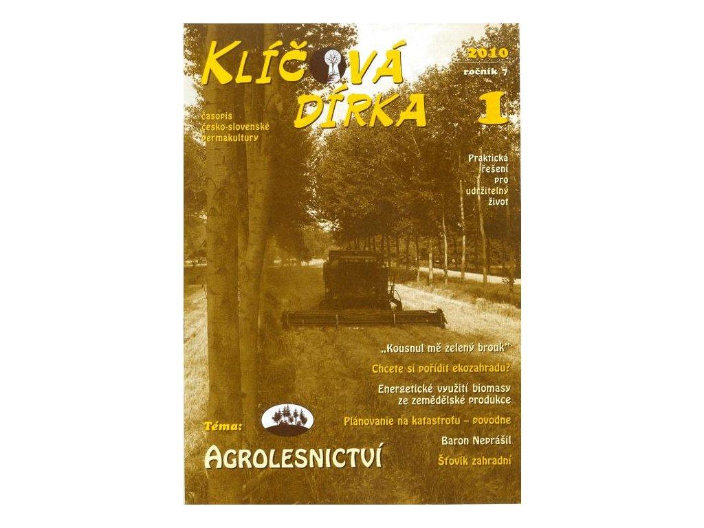 KLÍČOVÁ DÍRKA Č. 25 - 1/2010