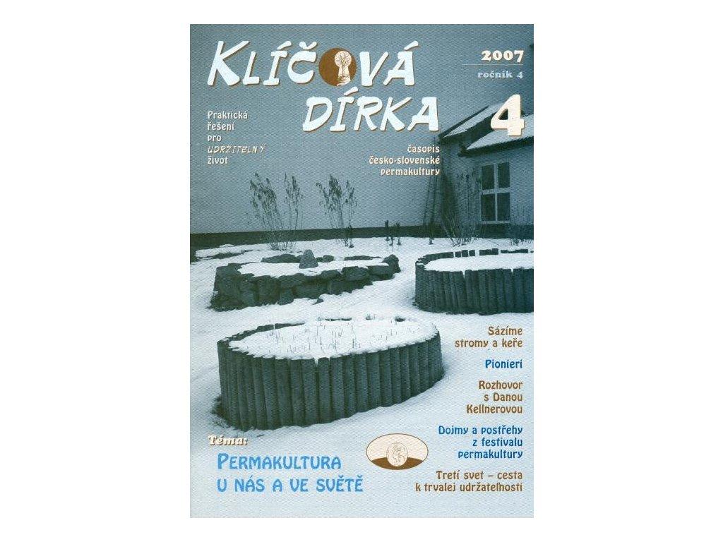 KLÍČOVÁ DÍRKA Č. 16 - 4/2007