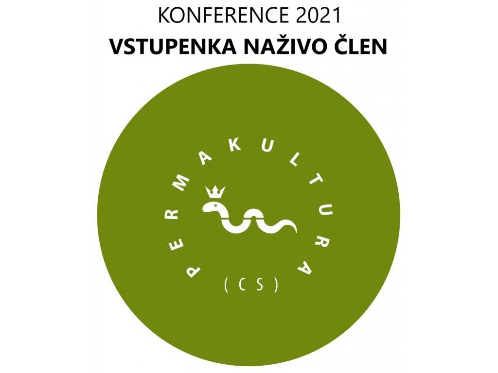Vstupenka konference 2021 naživo člen