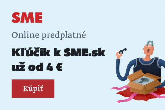 Predplatné Sme.sk + SME