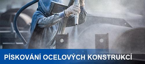 Pískování a povrchová úpava ocelových konstrukcí (Kompletní průvodce)