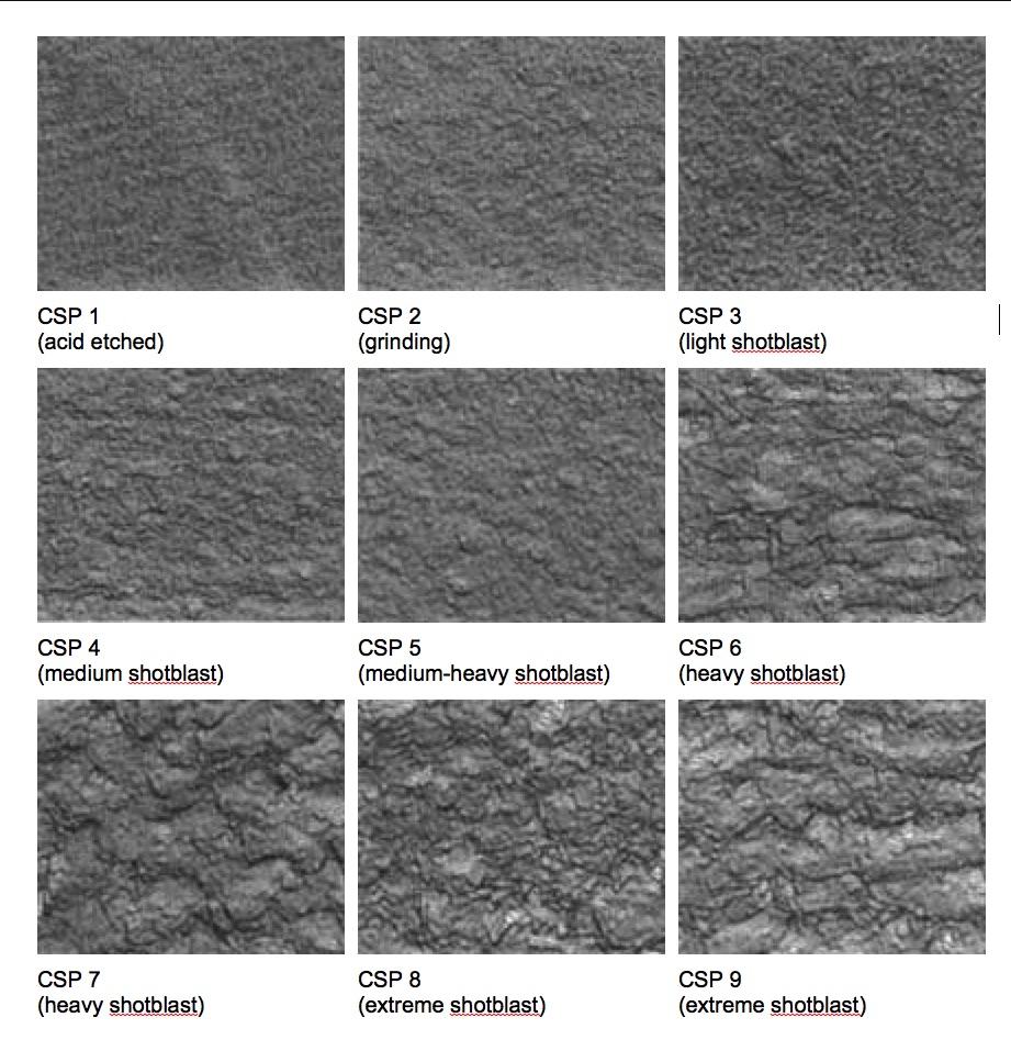 Vzorník-zdrsnění-betonu-ICRI