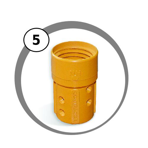držák trysek NHP pro mobilní tryskací zařízení