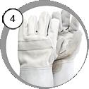 Ochranné rukavice na tryskání
