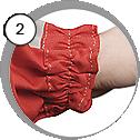 Ochranný oblek na pískování - detail