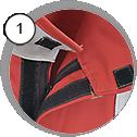 Ochranný oblek pro pískování - detail