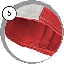 Ochranný oblek pro tryskání - detail