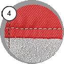 Ochranný overal na tryskání - detail