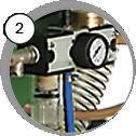 Injektorová pískovací kabina CAB - detail