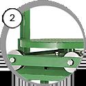 Injektorová pískovací kabina CAB ST - detail